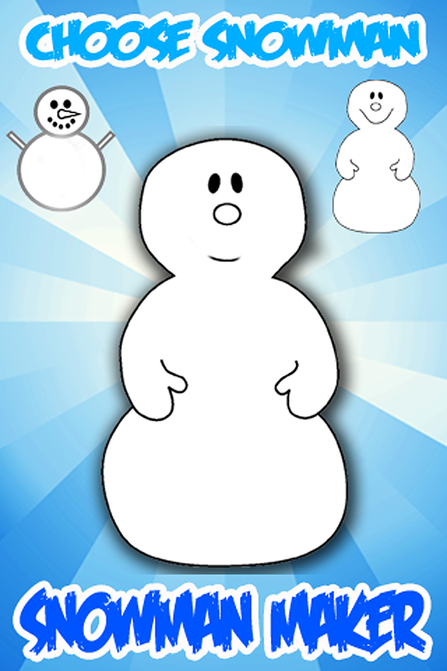 Screenshot A Snowman Maker